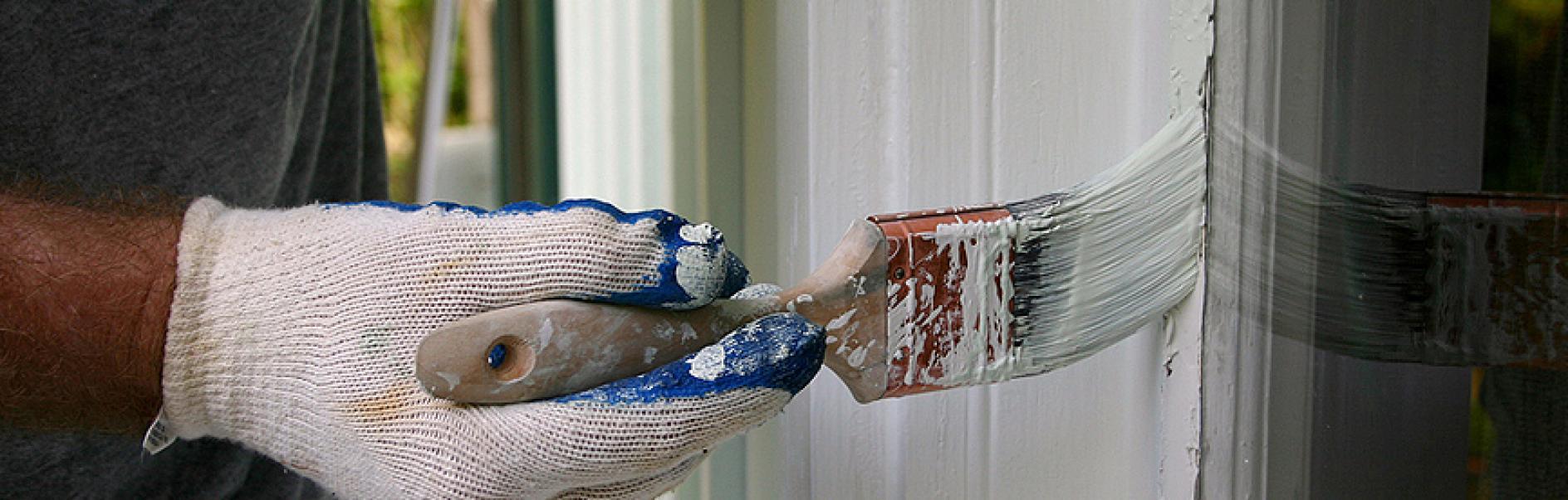 Come Verniciare Gli Infissi dipingi da solo porte e infissi delle finestre esterni!
