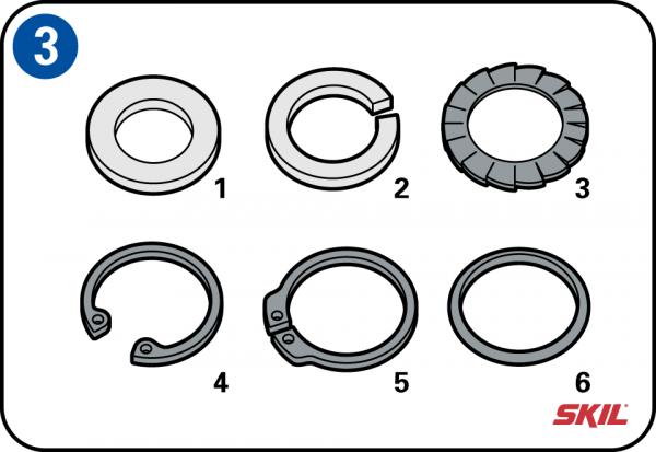 Zinco Forma C Rondelle Piatte Larghe M5 M6 M8 M10 M12 M16 M20 M24 per adattarsi Metrico Bulloni