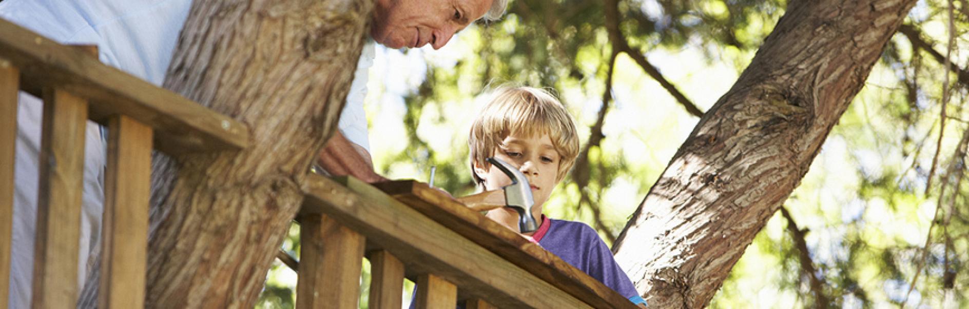 Come costruire una casa sull albero - Costruire casa sull albero bambini ...